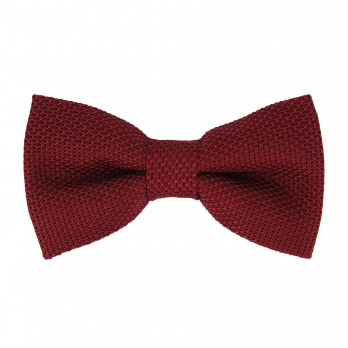 Burgundy Grenadine Silk The Nines Bow Tie - Grenadines IV