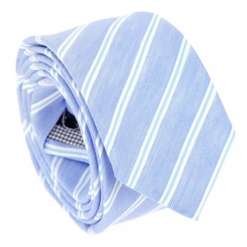 Blue tie with blue stripes The Nines