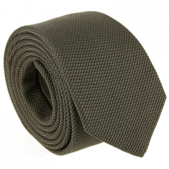 Olive Grenadine Silk The Nines Tie - Grenadines IV