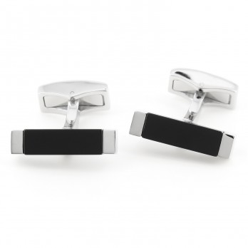 Rectangular Onyx cufflinks - Daejon