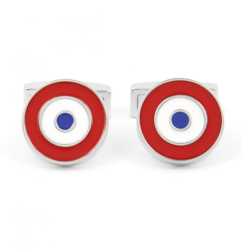 French Cockade cufflinks - French Cockade