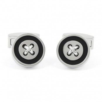 Black cufflinks - Baltimore