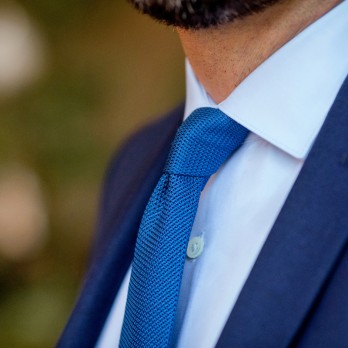 Blue Grenadine Silk The Nines Tie - Grenadines IV