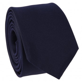 Dark Blue Tie in Silk - Côme
