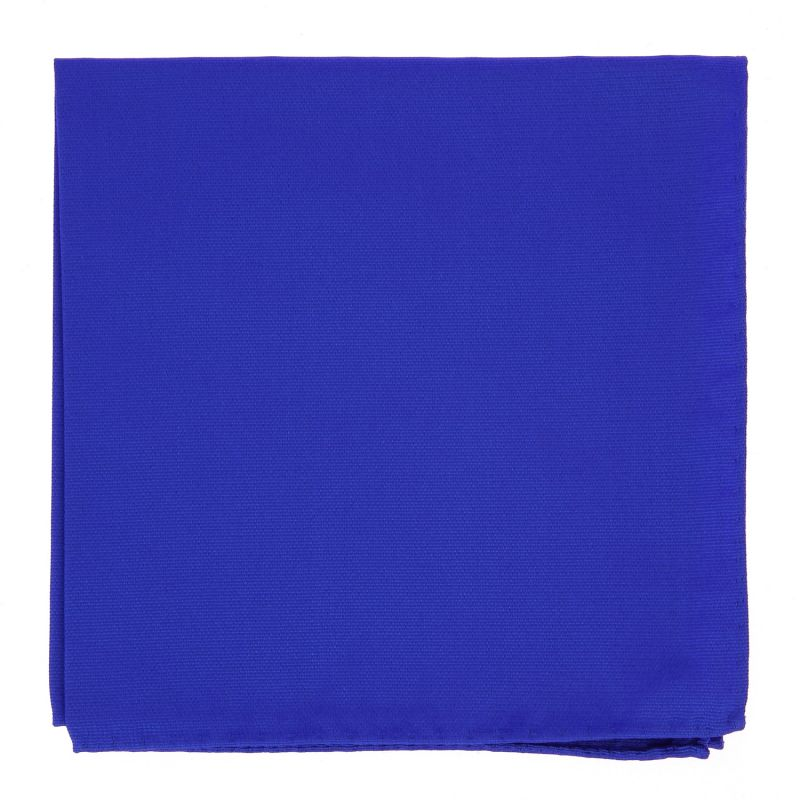 Electric Blue Pocket Square in Silk - Côme