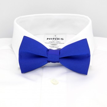 Electric Blue Bow Tie in Silk - Côme
