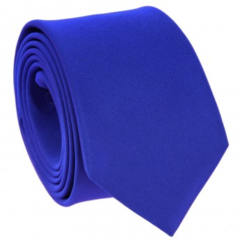 Electric Blue Tie in Silk - Côme