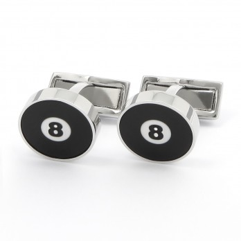 Cufflinks Billiard 8 - Damn it