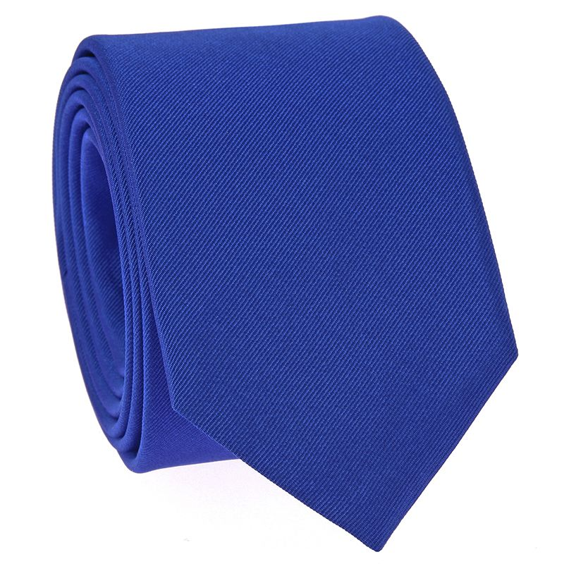 Cravate Bleu Cobalt Come