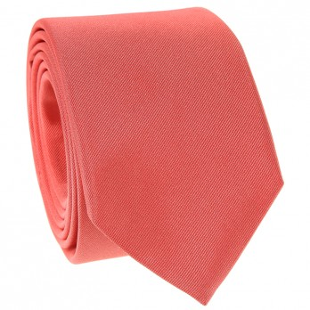 Coral Tie in Silk
