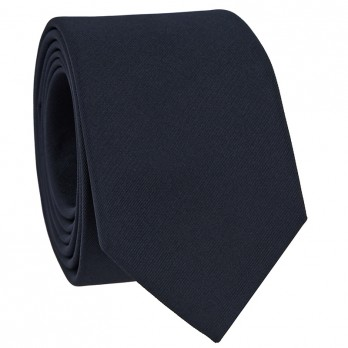 Navy Blue Tie in Silk - Côme