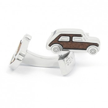 Wooden Car Cufflinks - Mini