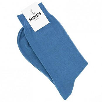 Cotton socks royal blue