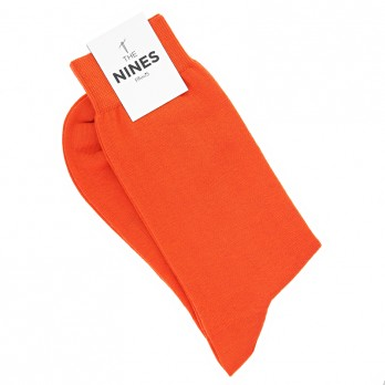 Cotton socks orange
