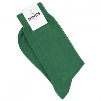 Cotton socks green