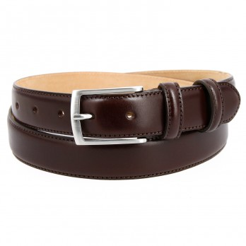 Brown leather belt - Ugo