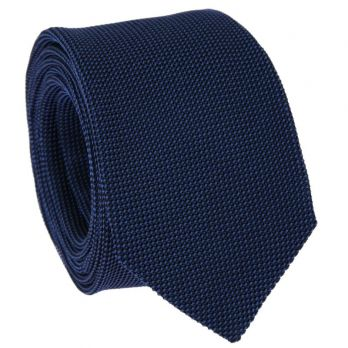 Cobalt Blue Tie in Grenadine Silk